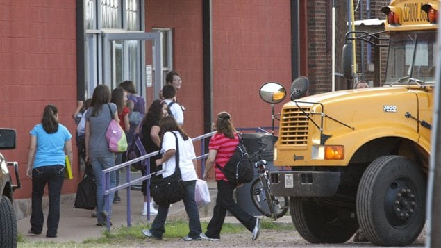 L'école d'Harrold, au Texas, compte 103 élèves de la maternelle à la 12e année.