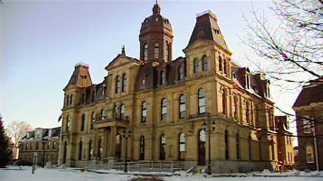 L'édifice de l'Assemblée législative du Nouveau-Brunswick.