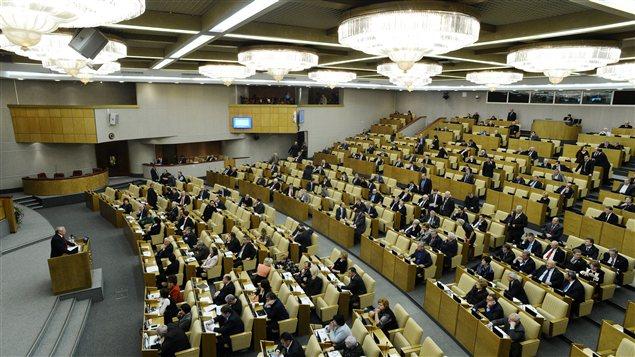 La douma approuve l 39 interdiction de l 39 adoption d 39 enfants for Chambre basse parlement