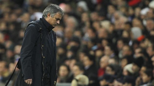 Le sélectionneur José Mourinho