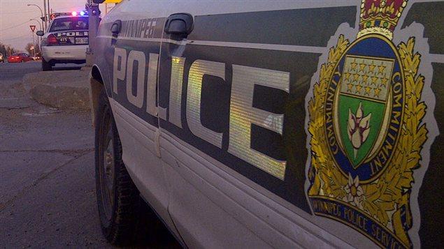 Des voitures policières de Winnipeg