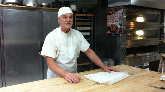 Le boulanger, Mario Gasse