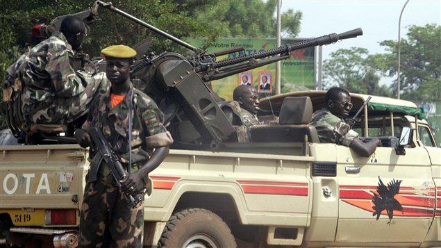 Des membres de la guarde présidentielle en République centrafricaine