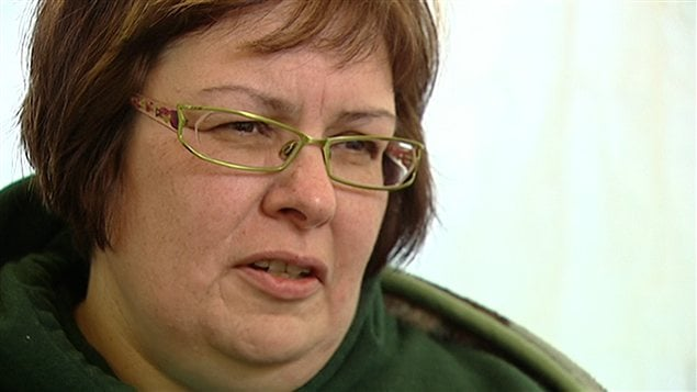 Theresa Spence, la chef de la communauté d'Attawapiskat