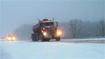 Neige en Pennsylvanie ce 26 décembre 2012