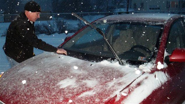 La neige en Pennsylvanie ce 26 décembre 2012