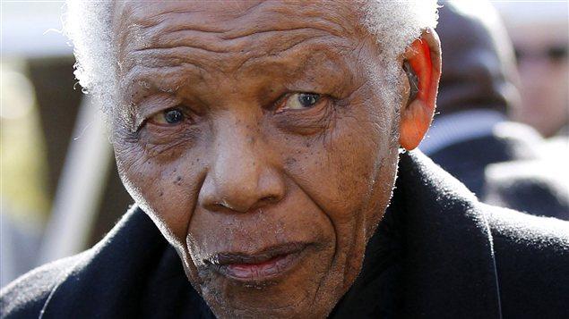 Nelson Mandela en 2010