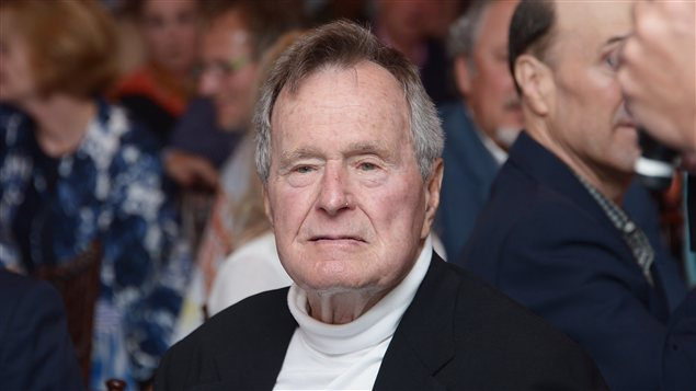 George H.W. Bush le 12 juin 2012