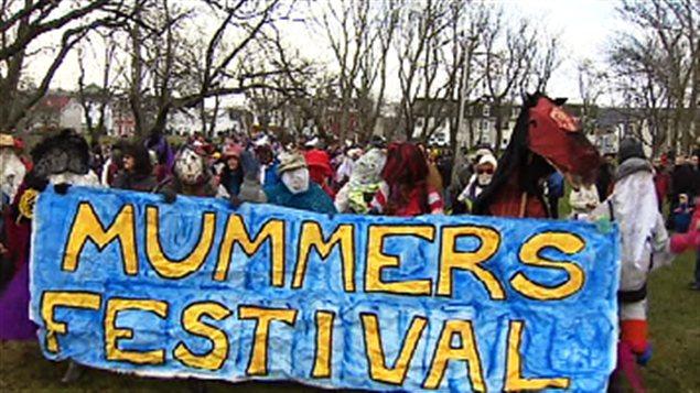 Festival des « mummers »