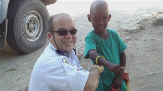 Le lieutenant Jocelyn Desrochers achève sa deuxième mission humnaitaire en Haïti.