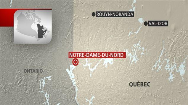 Notre-dame-du-Nord, au Témiscamingue