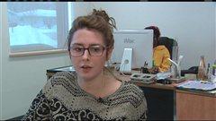 Émilie Lebel, coordonnatrice de projets à l'AJF.