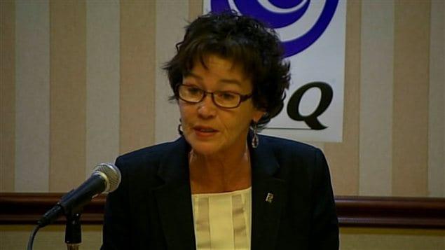 La présidente de la CSQ, Louise Chabot