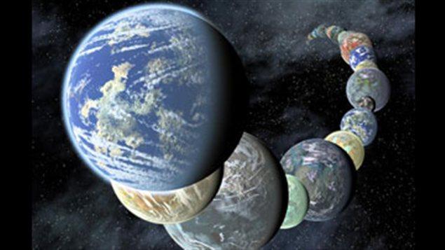 Des planètes