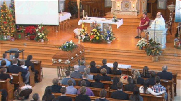 Funérailles de Pierrik Houle