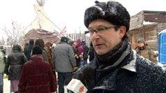 Le porte-parole de Québec solidaire, André Frappier