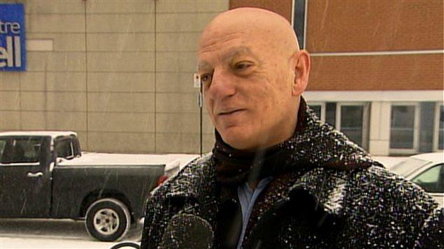 Peter Sergakis, président de l'Union des tenanciers de bars du Québec