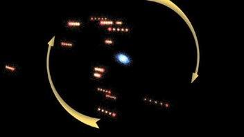 Les galaxies naines en rotation autour d'Andromède