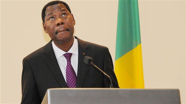 Le président du Bénin, Thomas Boni Yayi, par ailleurs président de l'Union africaine