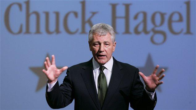 L'ex-sénateur du Nébraska, Chuck Hagel