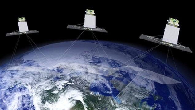 Le projet de Constellation Radarsat