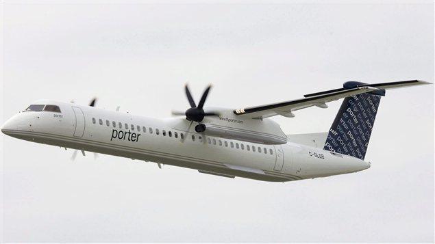 Un avion de la compagnie Porter