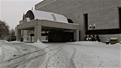 Le palais de justice d'Ottawa.