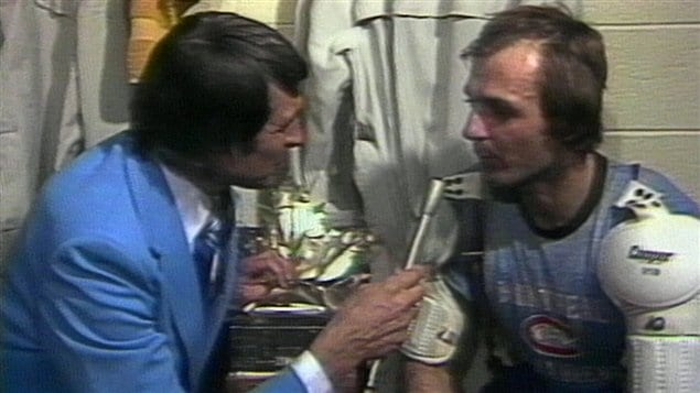 Richard Garneau et Guy Lafleur en 1977