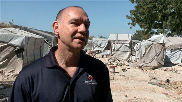 Conrad Sauvé, de la Croix-Rouge canadienne