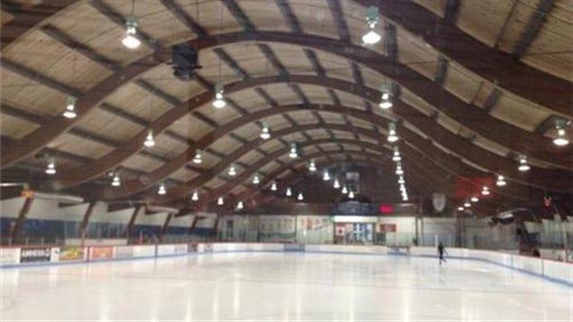 L'aréna de Saint-Lambert.