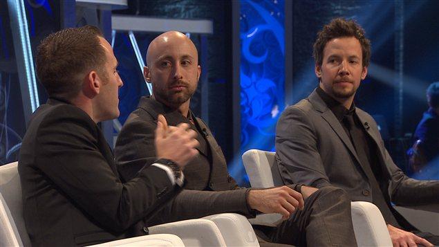 Trois membres du groupe Simple Plan, nommé personnalité de l'année La Presse/Radio-Canada