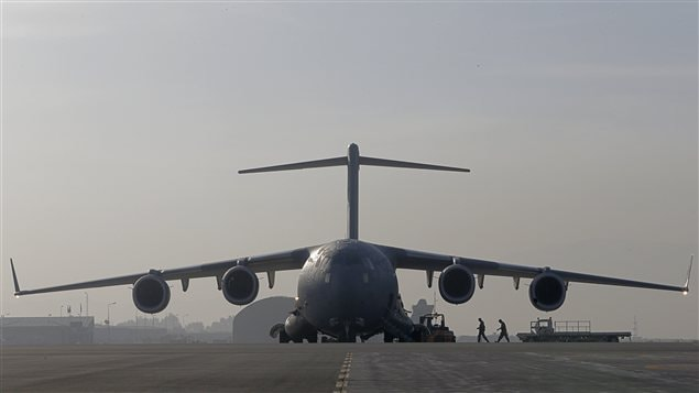 CC-17 en Afghanistan