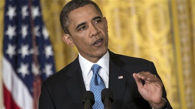 Le président des États-Unis Barack Obama