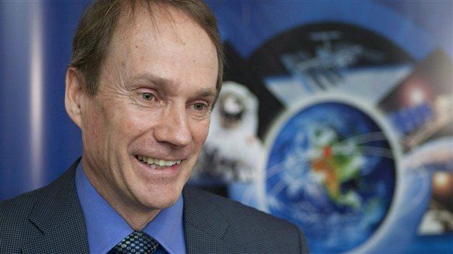 Steve MacLean, président de l'Agence spatiale canadienne (archives)