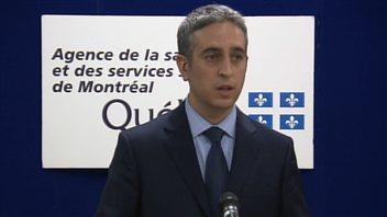 Frédéric Abergel, directeur des affaires cliniques, médicales et universitaires de l'Agence de la santé et des services sociaux de Montréal