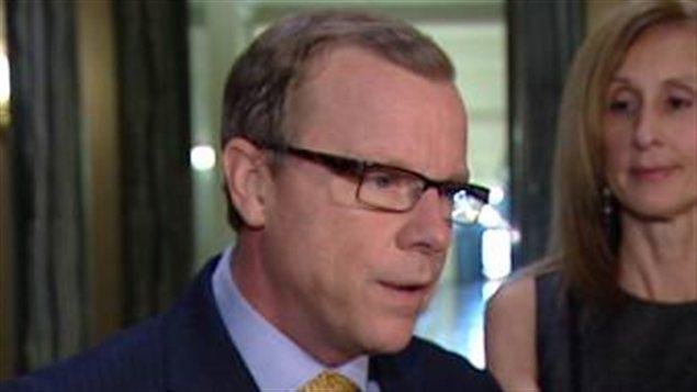 Le premier ministre de la Saskatchewan Brad Wall