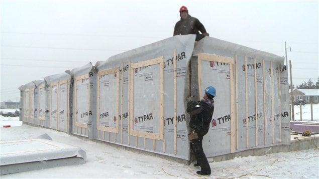 Construction aux Îles-de-la-Madeleine
