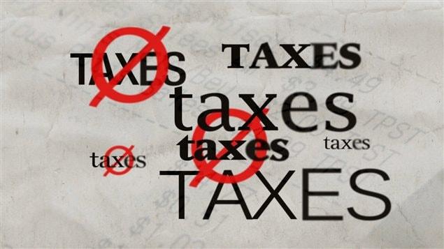 Quels produits sont taxés et lesquels ne le sont pas à l'épicerie?