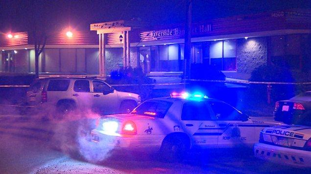 Une fusillade au Riverside Banquet Hall de Richmond a fait quatre blessés