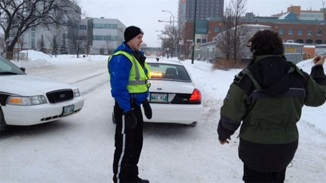 La circulation a été interdite sur l'avenue William à Winnipeg