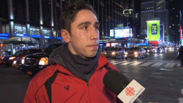 Mikael Zewski à New York