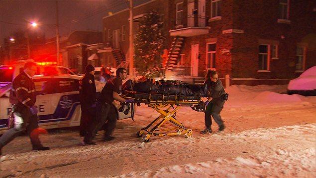 Le drame s'est déroulé dans le quartie Villeray, à Montréal, le 20 janvier 2013