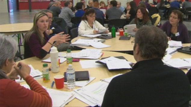 Journée de planification pour des bénévoles des Jeux du Canada