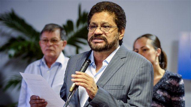Iván Márquez, négociateur en chef du groupe rebelle colombien