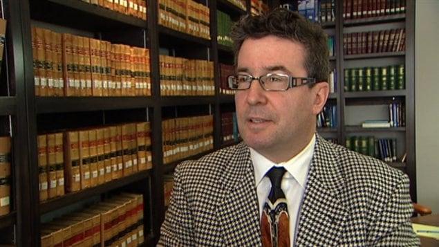 Pierre McMartin est l'avocat de Développement DRB.