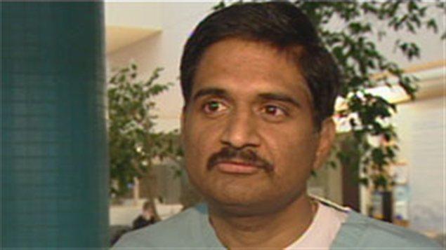 Le Dr Rao Tadepalli de l'association des médecins du Yukon.
