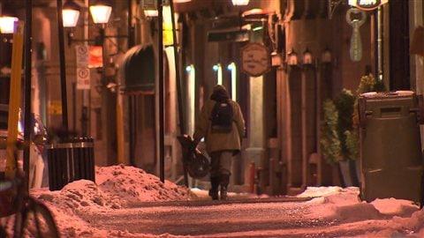La vague de froid est difficile pour les sans-abri à Montréal