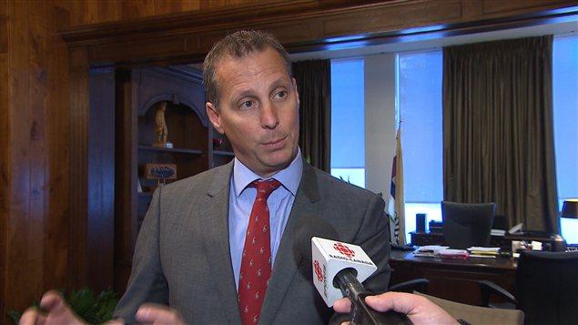 Le maire intérimaire de la Ville de Laval, Alexandre Duplessis
