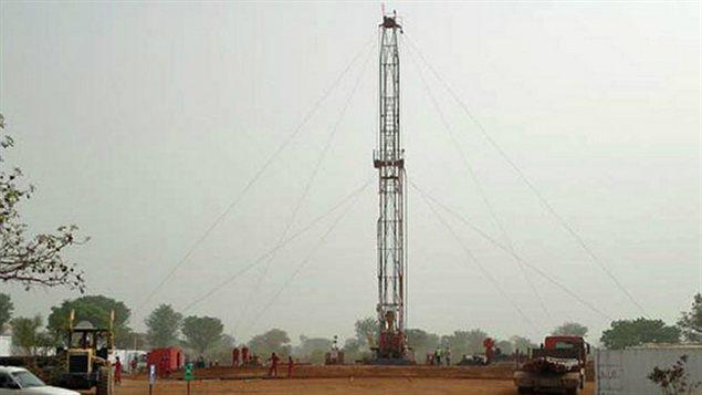 Un site d'exploration de Griffiths Energy au Tchad