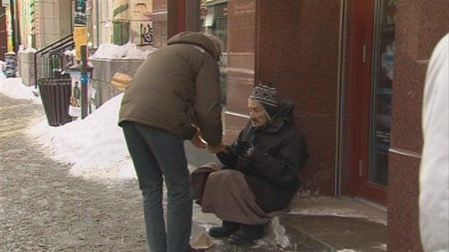 Le froid cause des soucis aux sans-abris